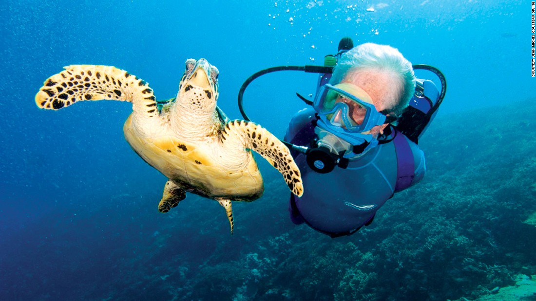 Jacques Cousteau's son, Jean-Michel, has made Petit St. Vincent a kind of second home. The dive school bears his name and follows the Cousteau legacy of exploration and conservation.