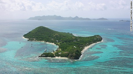 Petit St. Vincent has seven perfect beaches.