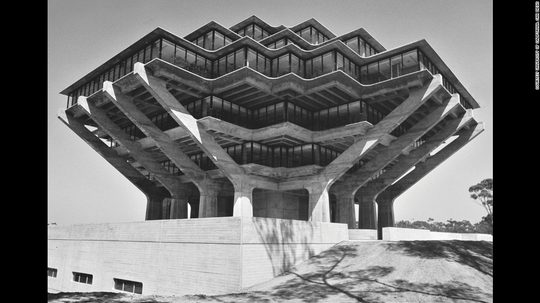 "For ""This Brutal World"" Chadwick, who started as an architecture blogger, sourced monochrome images from a variety of photographers to form his compendium. He says that black and white photography lends itself well to capturing Brutalist buildings, emphasizing the strong shapes it became known for."