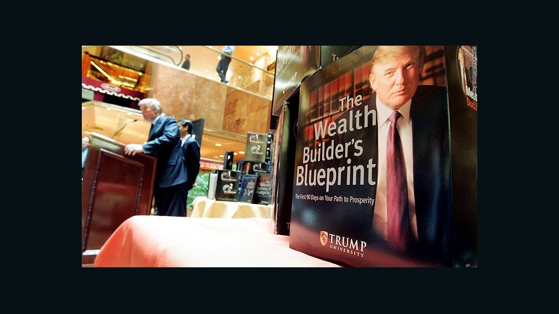 In Trump University Book Tax Avoidance Strategies Its