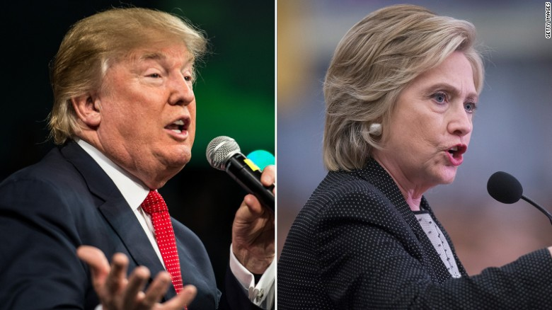 Clinton and Trump locked in dead heat in new polls