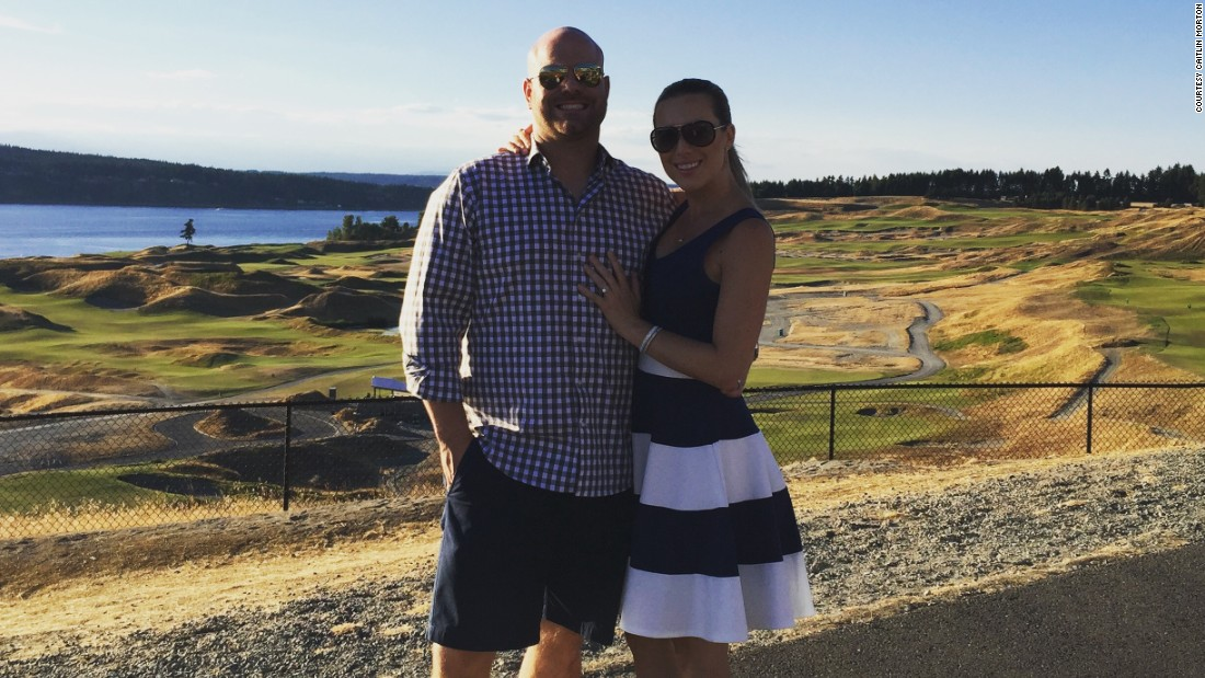 """In 2016, after getting another medical opinion, the Mortons finally have an answer. But they have to decide their next step and examine """"just being husband and wife and being OK with that as our family."""""""