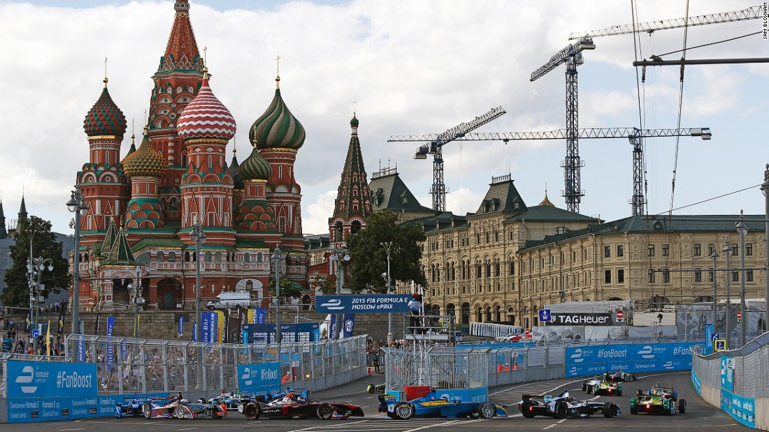 The inaugural Moscow ePrix took place in June 2015.