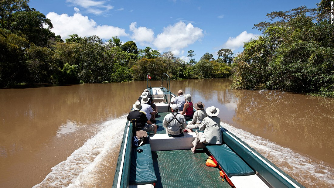 """If somebody wants to enjoy the wildlife, this is a very good place to go,"" says Estrella expedition leader Dennis Osario. ""The river is vast, and there are not many companies going there. It's a personal experience, feeling the spirit of the forest. It's living a dream."""