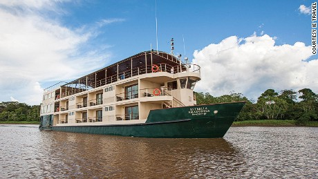 La Estrella Amazonica carries a maximum of 31 guests.