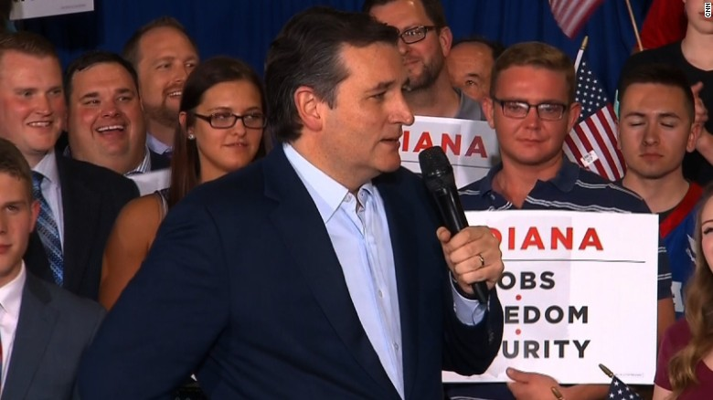 Ted Cruz flubs iconic 'Hoosiers' movie line at rally