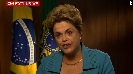CNN EXCLUSIVE: DILMA ROUSSEFF ON SURVIVING IMPEACHMENT(SPANISH)