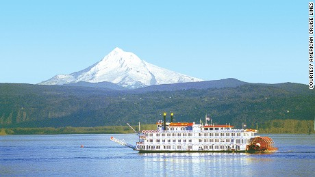 The Queen of the West's cruises retraces explorations by Lewis and Clark.