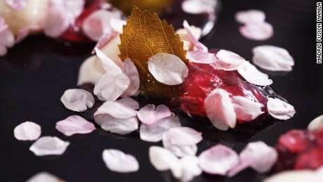 """""""Sakura and Rice,"""" by Yoshihiro Narisawa."""