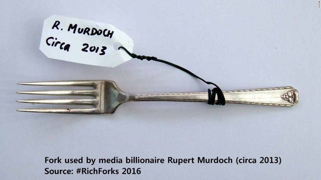 Fork exhibition rupert murdoch