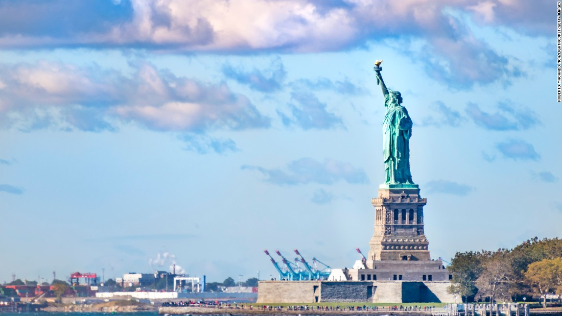 A meeting with Lady Liberty will run travelers flying into LaGuardia International Airport about 31% less.