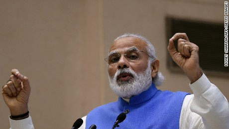 Indian Prime Minister Narendra Modi.