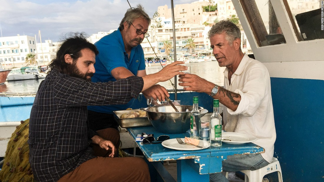 Ouzo and Raki are a fitting accompaniment to the island's diverse array of seafood.