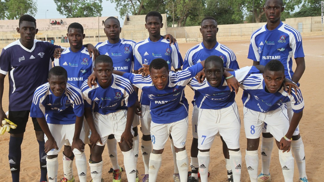 Each year, between 3,000 and 5,000 boys try out at local football schools across Senegal for a place at the academy. Only around 16 of them get in.
