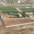 Diambars football academy Senegal aerial view