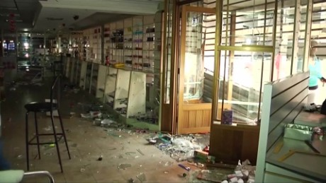 venezuela looting tensions crisis pkg romo _00001513