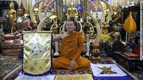 Phra Prommangkalachan says Leicester's success will continue if it keeps upholding the law of karma.