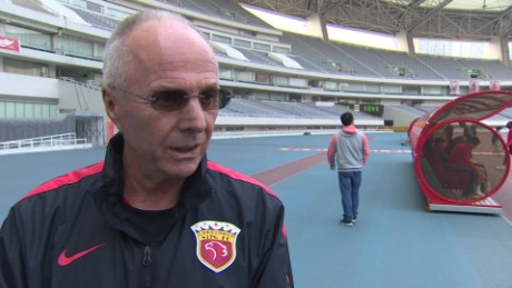 Sven-Goran Eriksson talks about Leicester City F.C.