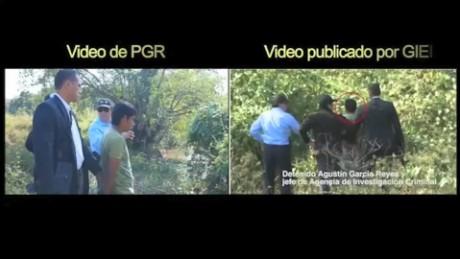 cnnee pkg rey rodriguez ayotzinapa respuesta nuevo video pgr comparacion video fotoperiodistas_00001116