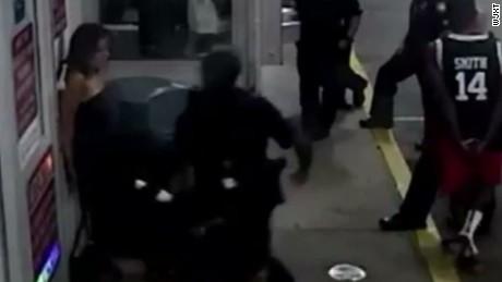 Florida officer arrested fired striking handcuffed woman pkg_00000413