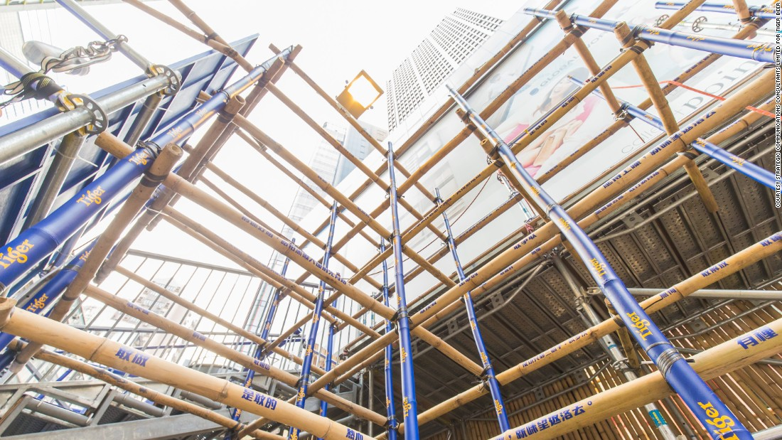 how to build bamboo scaffold