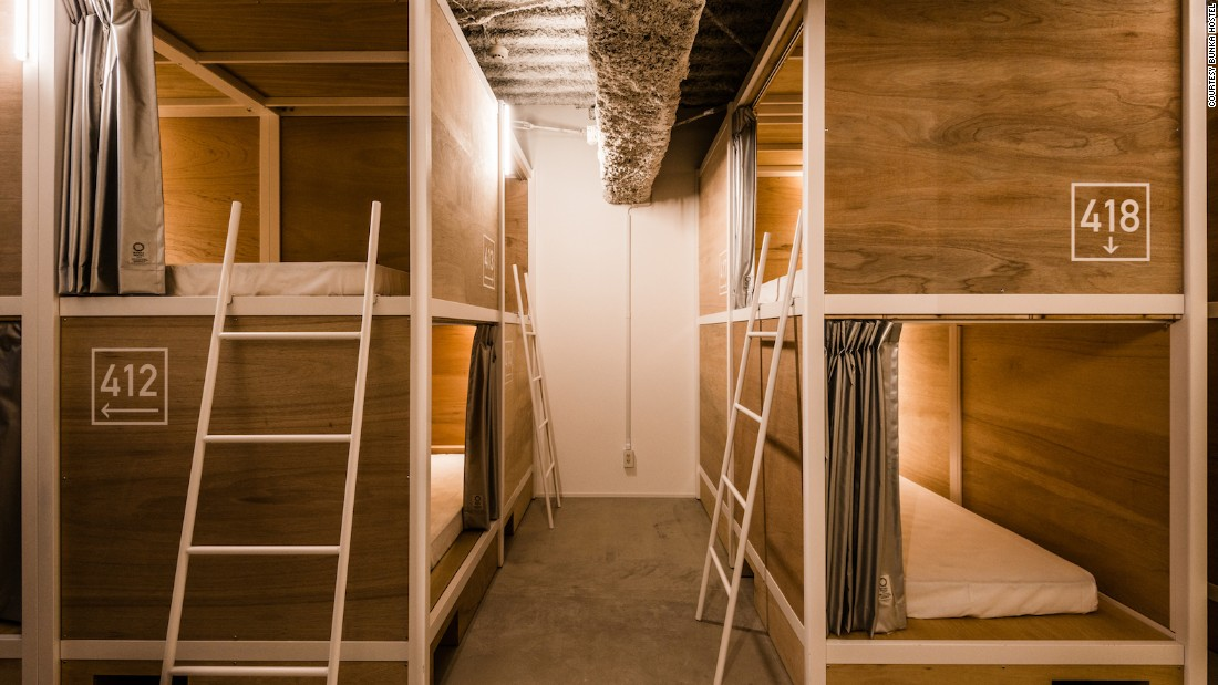 Designed by artist Hiroko Takahashi, the hostel is a self-proclaimed leader in cleanliness and functionality.