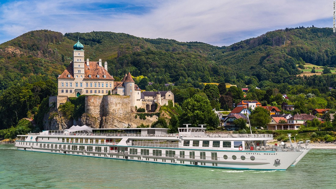 Crystal has expanded into river cruises. It's ordered five new luxury cruises, including the Crystal Mozart, the largest cruise vessel in Europe (artist's concept pictured). The Mozart will make its inaugural trip on the Danube in July 2016.