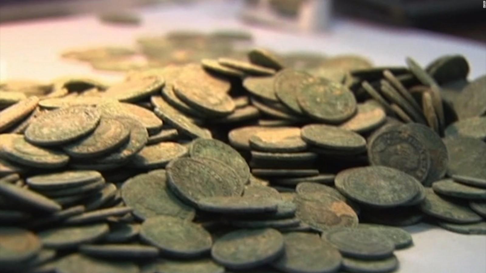 lbs  of ancient Roman coins found in Spain   CNN com CNN com