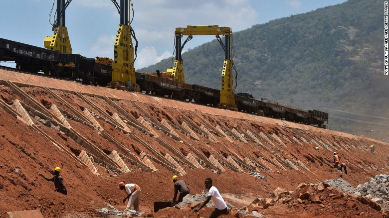 Kenya's new railway cost $4 billion, with China Exim Bank funding $3.6 billion of the total cost, according to SAIS. estimates.
