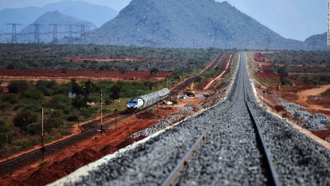 "Kenya is spearheading the project, with a new 472-kilometers-long standard gauge line connecting<a href=""http://edition.cnn.com/2016/05/15/africa/kenya-railway-east-africa/""> Mombasa to Nairobi taking shape</a>."