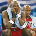 Lamar Odom and Stephon Marbury USA basketball