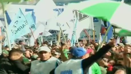 cnnee panorama ivan perez sarmenti sindicatos unidos vs gobierno macri_00015013