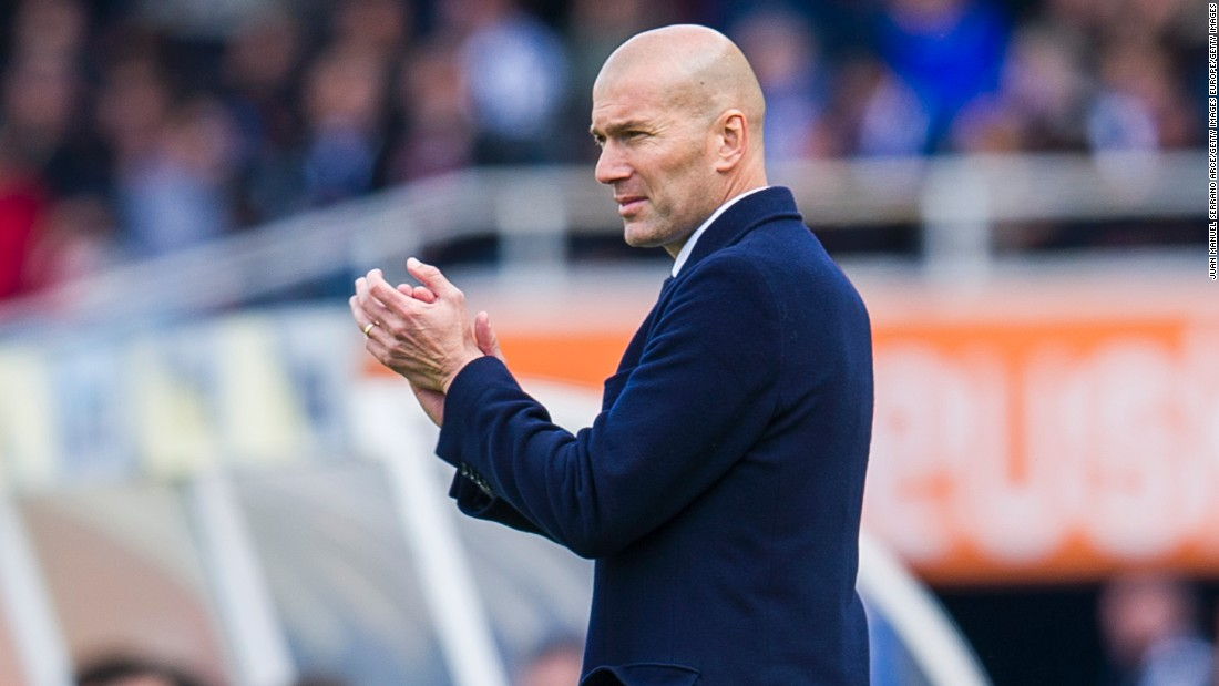 Real is coached by Zinedine Zidane. The Frenchman was Ancelotti's assistant when it secured its 10th Champions League crown, and spent five years at the club as a player after joining for a world record fee in 2001.