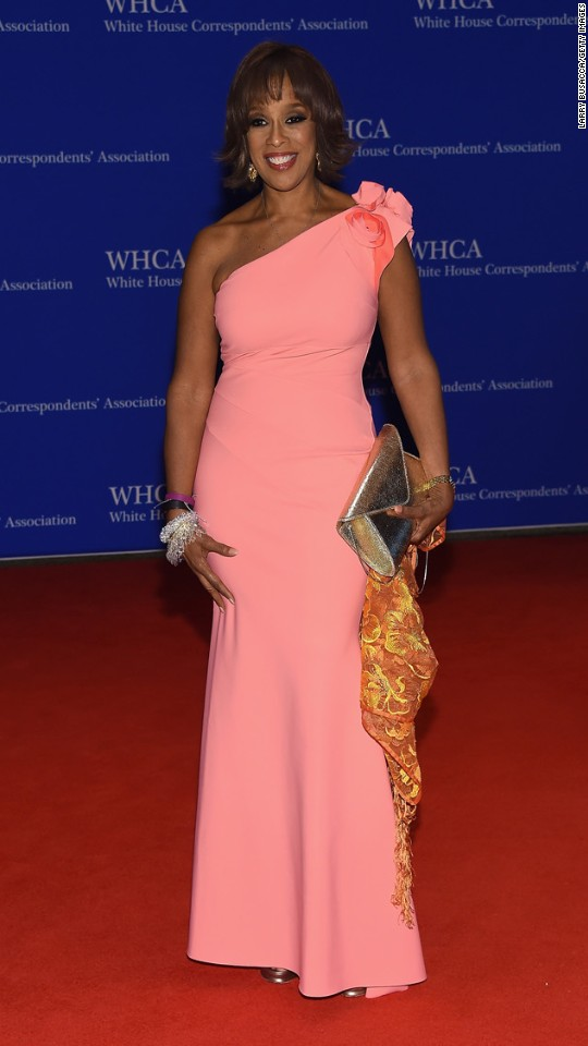 CBS co-host Gayle King.