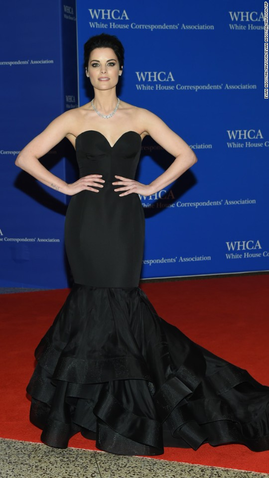 Actress Jaimie Alexander.