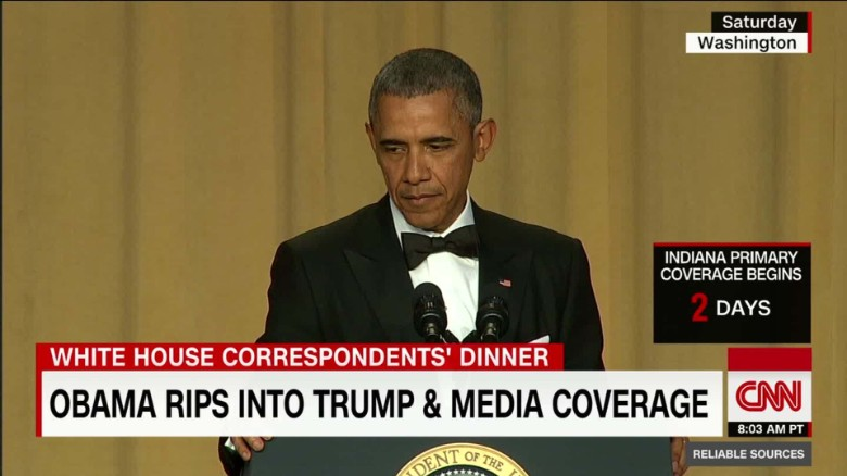 What Obama thinks about Trump coverage