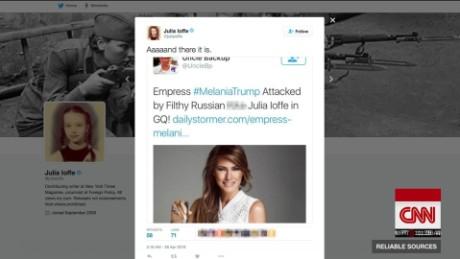 Trump supporters cyber attack reporter_00020910
