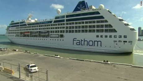 First U.S.-to-Cuba cruise in decades sets sail