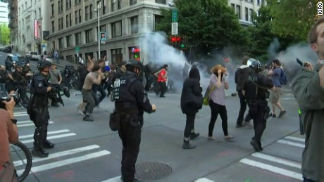 Violent May Day clashes rock Seattle