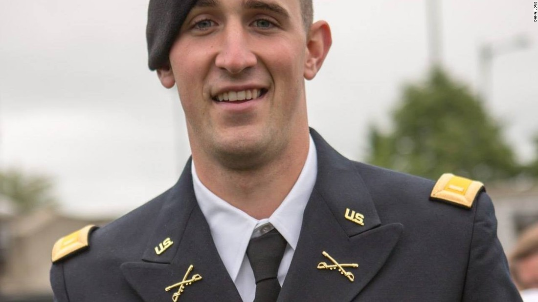 First Lt. Connor Love is an active-duty Army officer who serves on the ground support team as CFO for USX. During his time at West Point, Love worked with veteran nonprofit organizations.