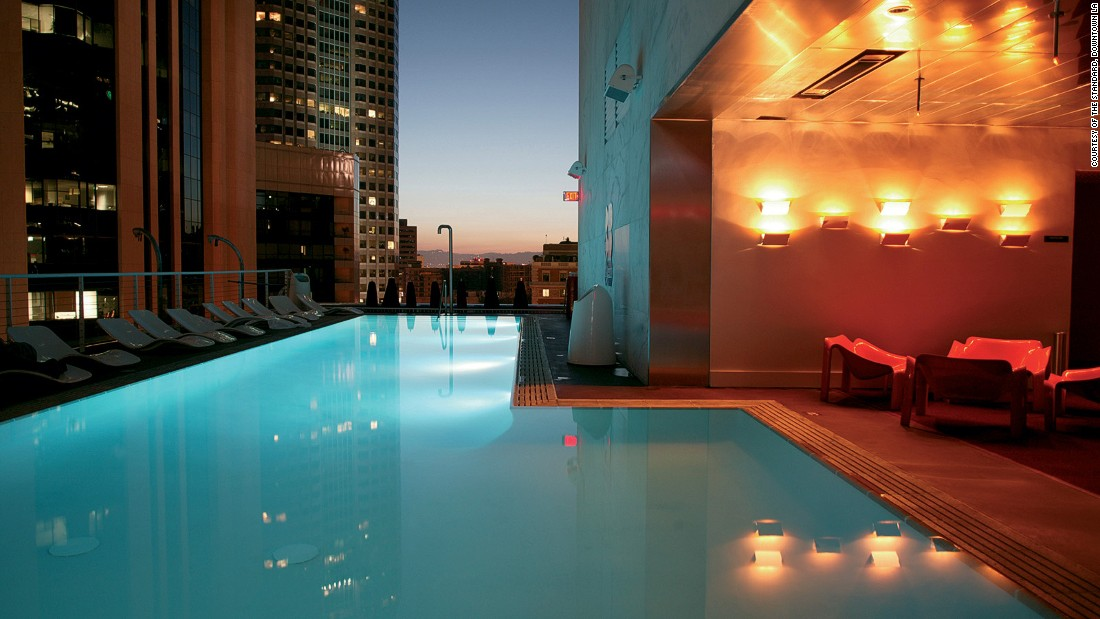 Los Angeles Hotel Pools 6 That Make A Real Splash Cnn Com