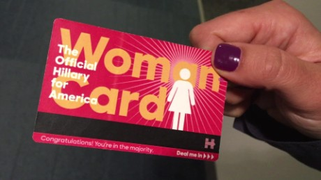 Hillary Clinton Woman Card moos pkg erin_00005203