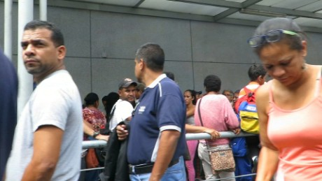 Shortages in Venezuela amid economic crisis