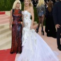 Donatella Versace and Kate Hudson met gala