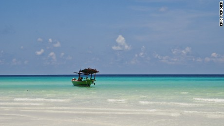 Koh Rong is Cambodia's second largest island.