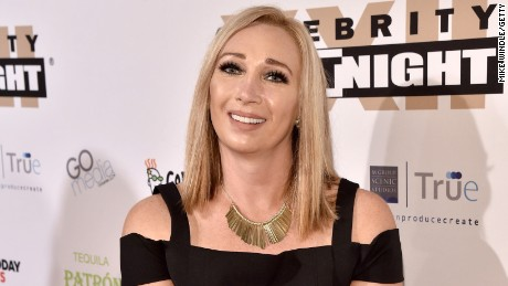 Swimmer Amy Van Dyken attends Muhammad Ali's Celebrity Fight Night XXII on April 8, 2016, in Phoenix, Arizona.