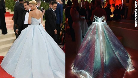 Met Gala 2016: Fashion veers into tech on the red carpet