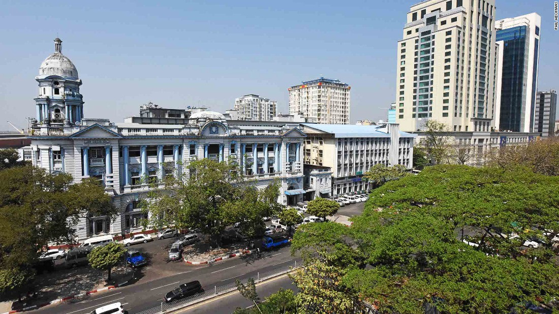 Yangon's former Bank of Bengal building, located on Strand Road, is now a branch of the Myanmar Economic Bank.