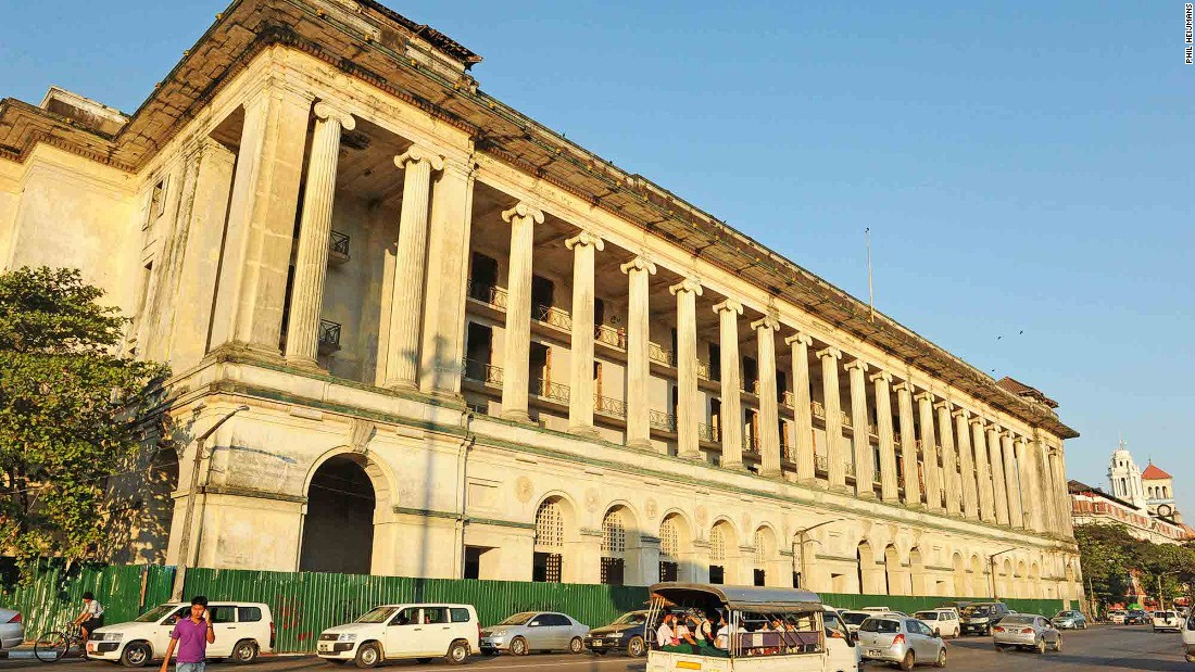 Built originally as the Law Courts, this block-long structure overlooking Strand Road is the city's foremost architectural example of grandeur and authority. A colonnade of British imported Ionic columns spans the length of the southern facade.