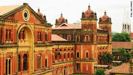 Relics of Rangoon: Myanmar's disappearing heritage buildings